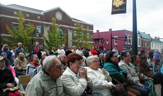 The audience for Rita Coolidge in Stanford, Kentucky 2013