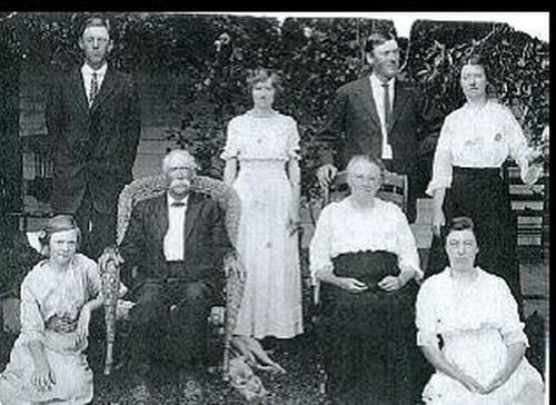 Family of Edward Perry James