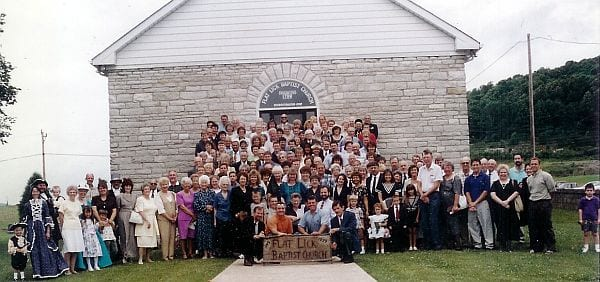 Flat Lick Baptist Church 1999