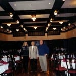 Judge James R. Ross with Tom Martin and Anne Martin-Bowler.