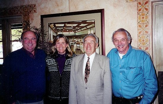 Tom Martin, Anne Martin-Bowler, Judge James R. Ross, Eric F. James