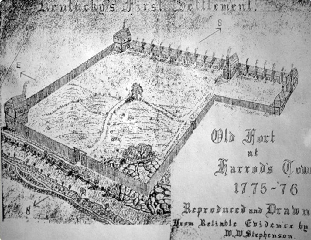 The Olde Fort of Harrod's Town 1775-1776