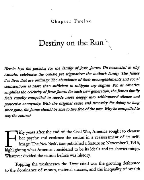 Chapter 12 preview from Jesse James Soul Liberty Vol. I