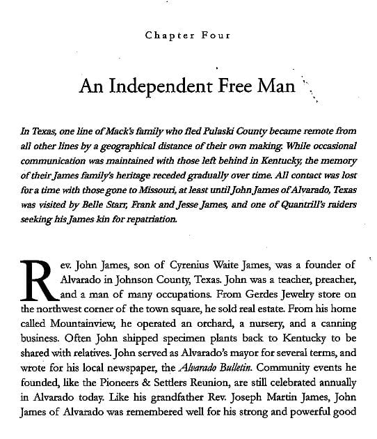 Chapter 4 preview from Jesse James Soul Liberty Vol. I