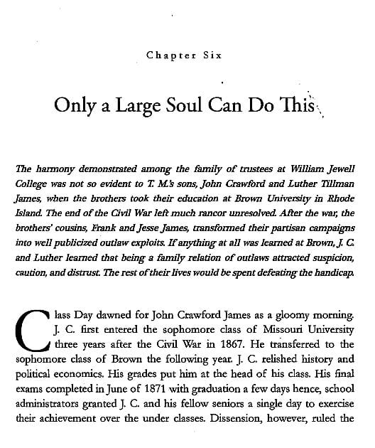 Chapter 6 preview from Jesse James Soul Liberty Vol. I