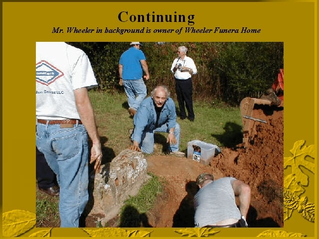 Exhumation continues