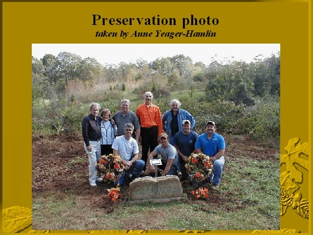 Participants in the exhumation of Jesse James' twins