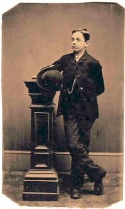 Fake image claimed to be Jesse James