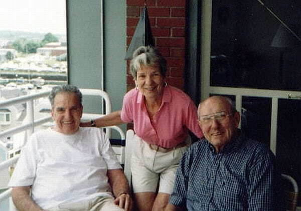 Siblings of Joan Beamis - Fr. Jim, Janice, and Jack Malley