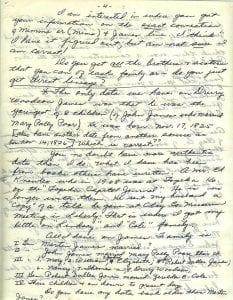 Letter of Thelma Duncan Barr to Joan Beamis, Oct. 26-27, 1970, page 4