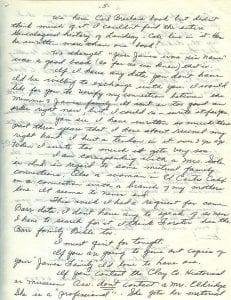 Letter of Thelma Duncan Barr to Joan Beamis, Oct. 26-27, 1970, page 5