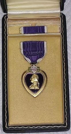 Art Smith's Purple Heart