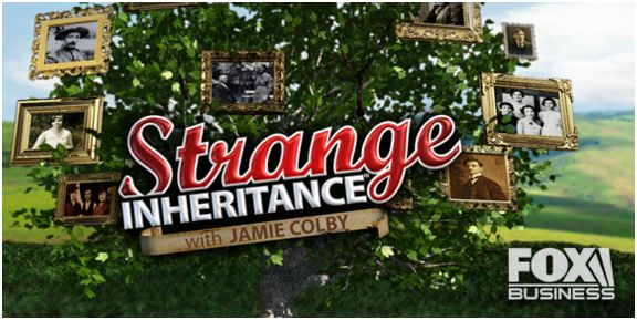 Strange Inheritance reality TV mastheard
