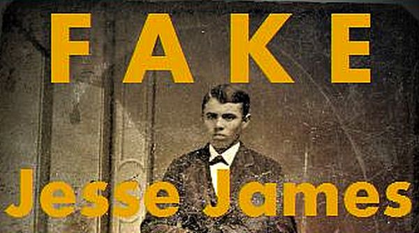 Fake image of Jesse James