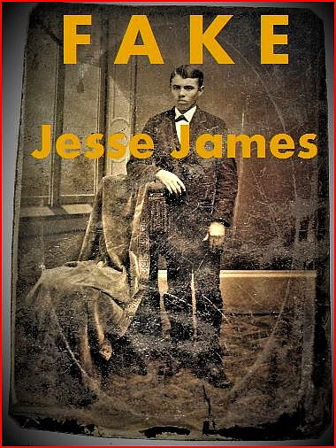Fake tintype claimed to be Jesse James