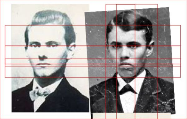Bampton-Analysis of Purported Photograph of Jesse James-Plate 7a