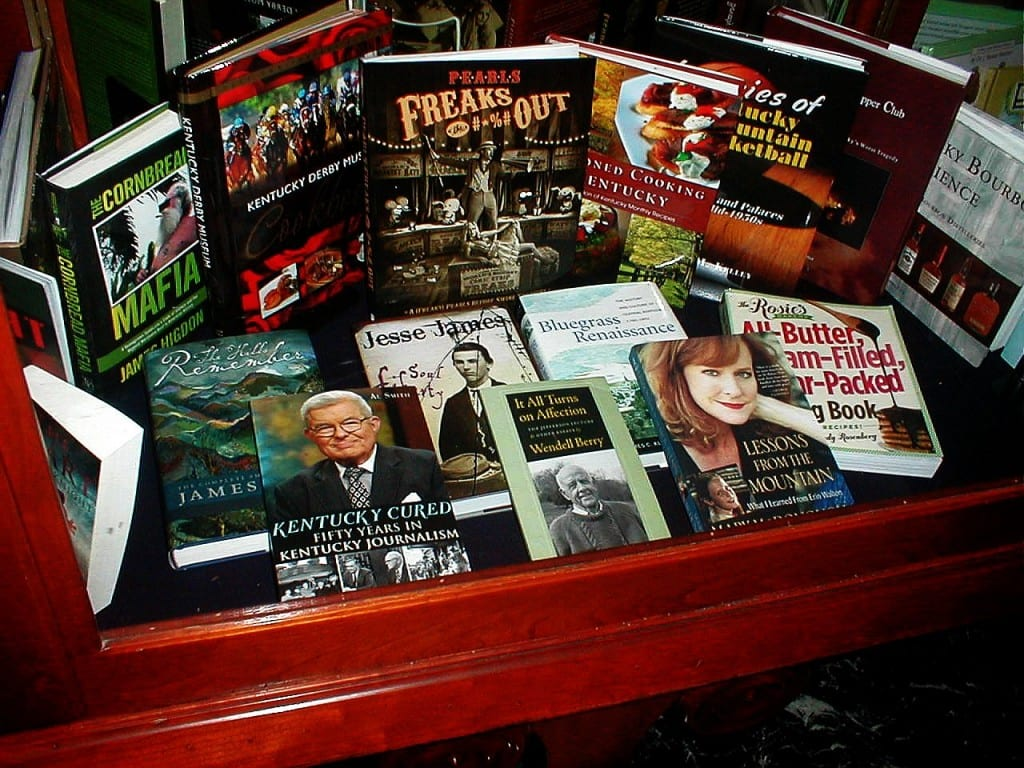 Display of book in the Kentucky Capitol