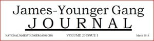 James-Younger Gang Journal masthead