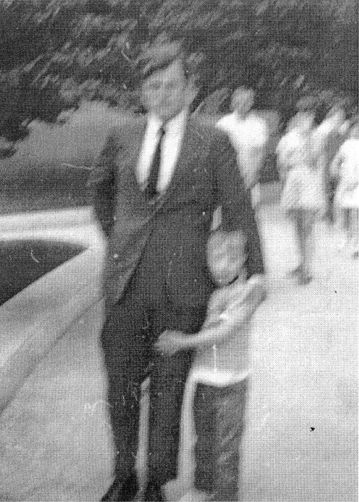 Born with Down's Syndrome, Bobby Brush was aided in his development by the family of Sen. Ted Kennedy os Masachusettes.