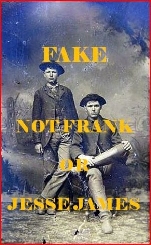 fake image of Frank and Jesse James
