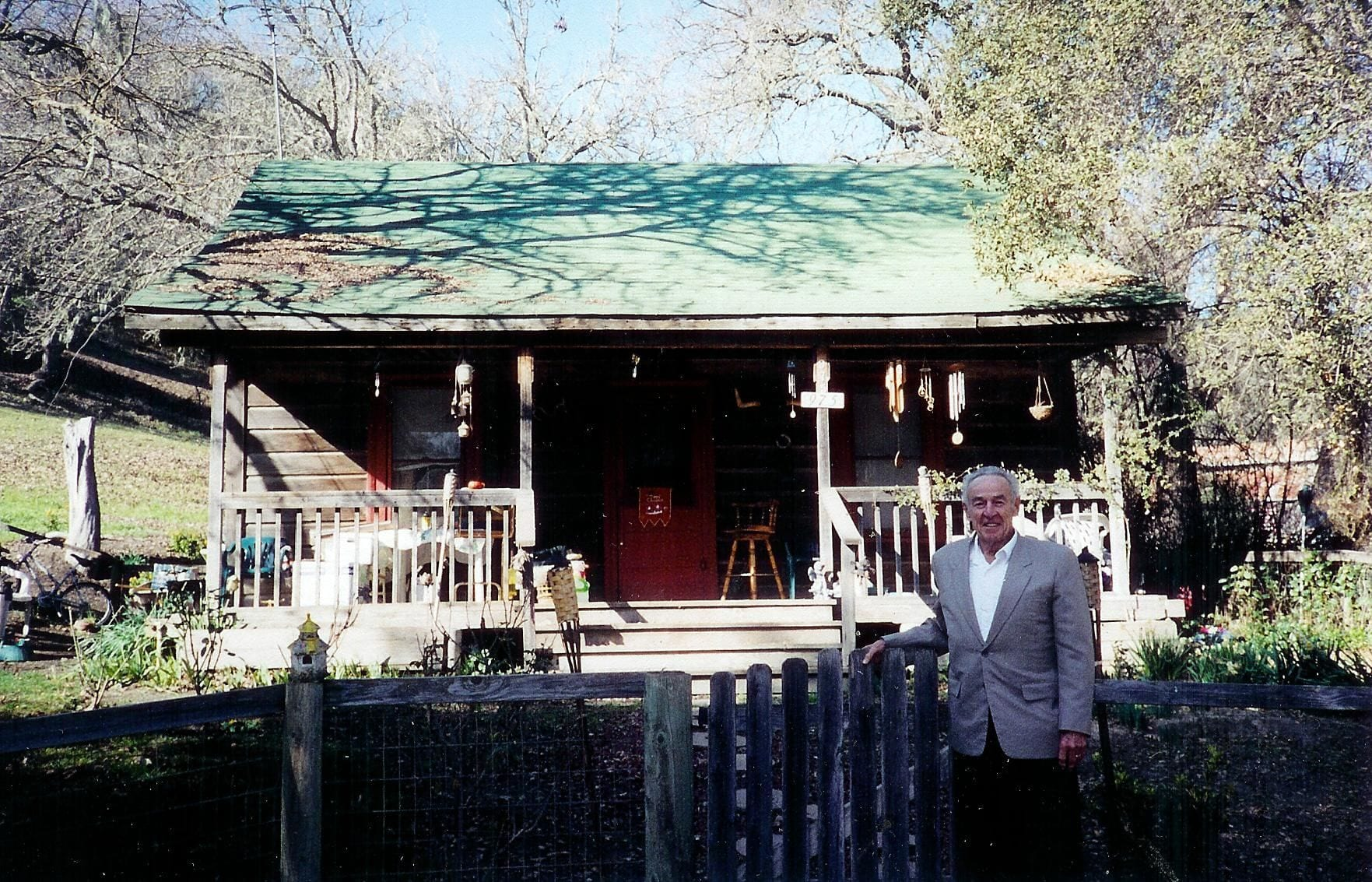 Jesse James' great grandson Judge James R. Ross visits Jesse's Paso Robles cabin for the first time