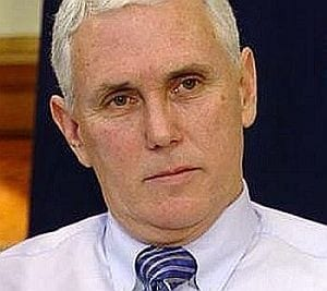Gov. Mike Pence of Indiana