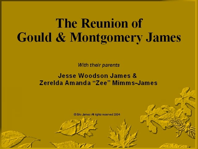 The exhumation of Jesse James twin children - slide show