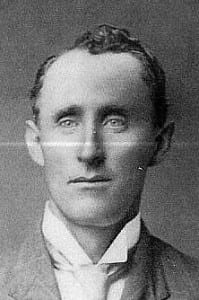 Earnest Clarence Thurmond 1873-1940. First cousin of Clell Miller of the James Gang.