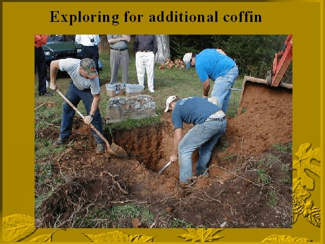 Search for a second coffin