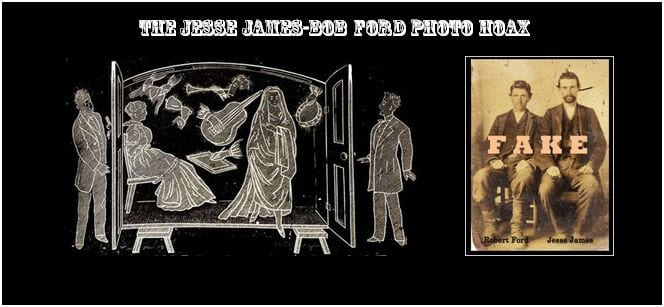 Bob Ford-Jesse James photo hoax JJSL