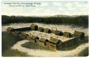 Boonesborough postcard