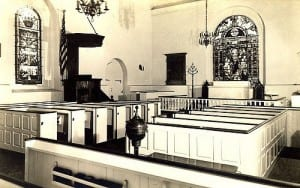 Interior of Holy Trinity Church, 1938
