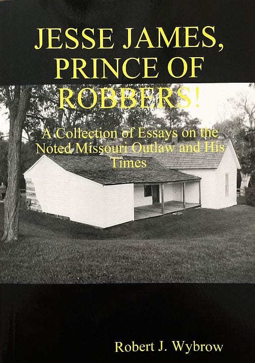 Jesse James Prince of Robbers-book cover