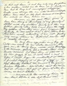 Letter of Thelma Duncan Barr to Joan Beamis, Oct. 26-27, 1970, page 2