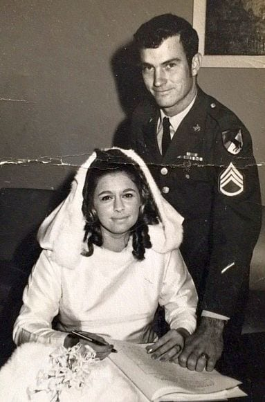Robert Lee James-Susan Anne Syron wedding photo
