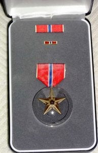 Art Smith's Bronze Star