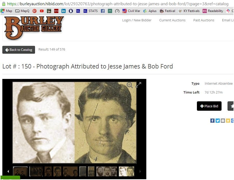 True and fake images of Bob Ford