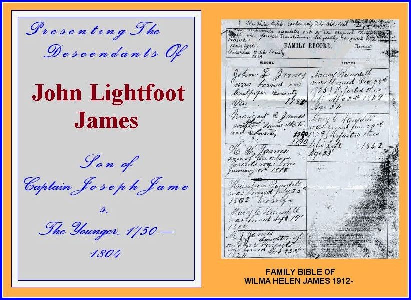 John Lightfoot James
