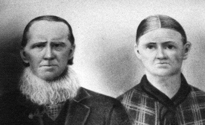 Jeremiah James & spouse Mary Campbell whose James line became the subject of DNA testing