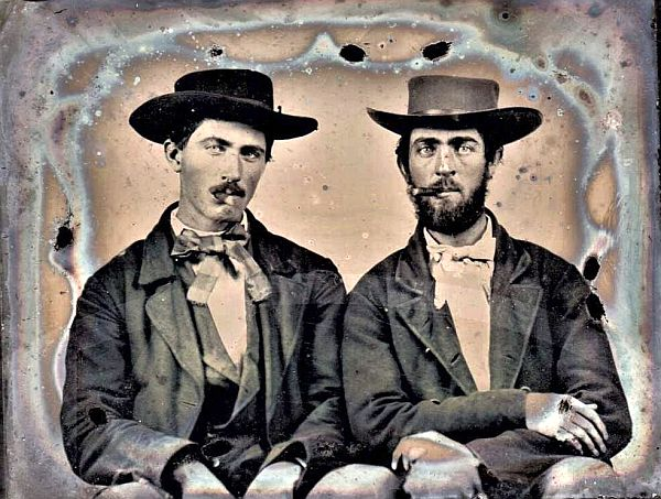 Claimed to be Bob and Jim Younger of th Younger Gang by Justin Whiting