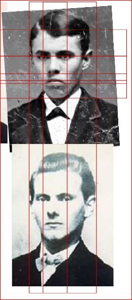 Bampton-Analysis of Purported Photograph of Jesse James-Plate 7b