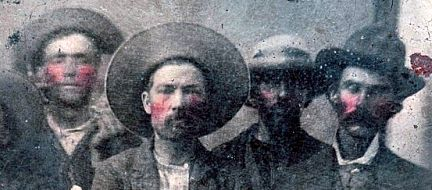 Claimed Billy the Kid and Pat Garrett