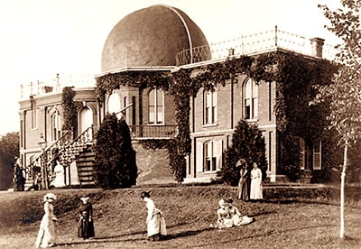 Croquet at Vassar Observatory