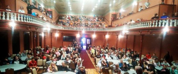 Woodward Opera House-audience