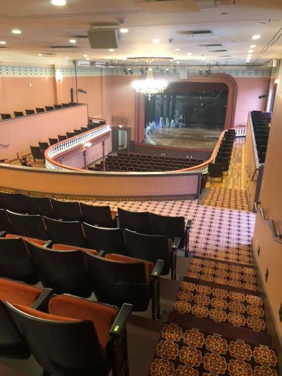 Woodward Opera House-stage view