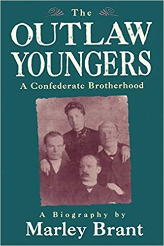 First edition cover of the Outlaw Youngers book